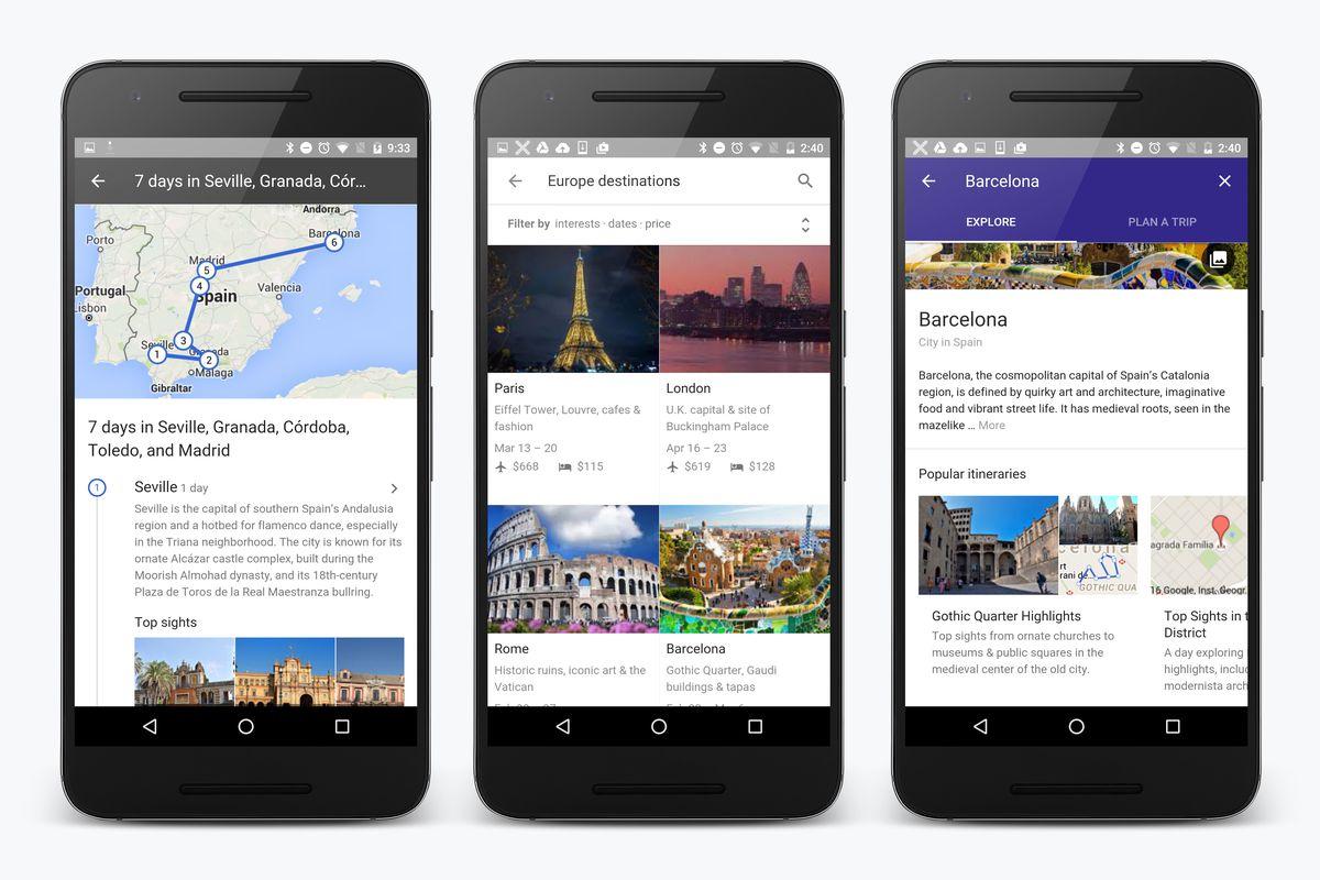 google destinations-news-google