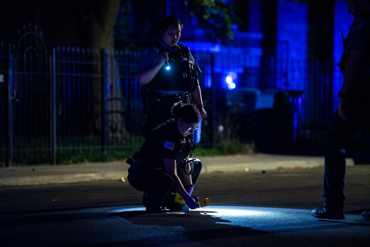 Woman shot in Bronzeville