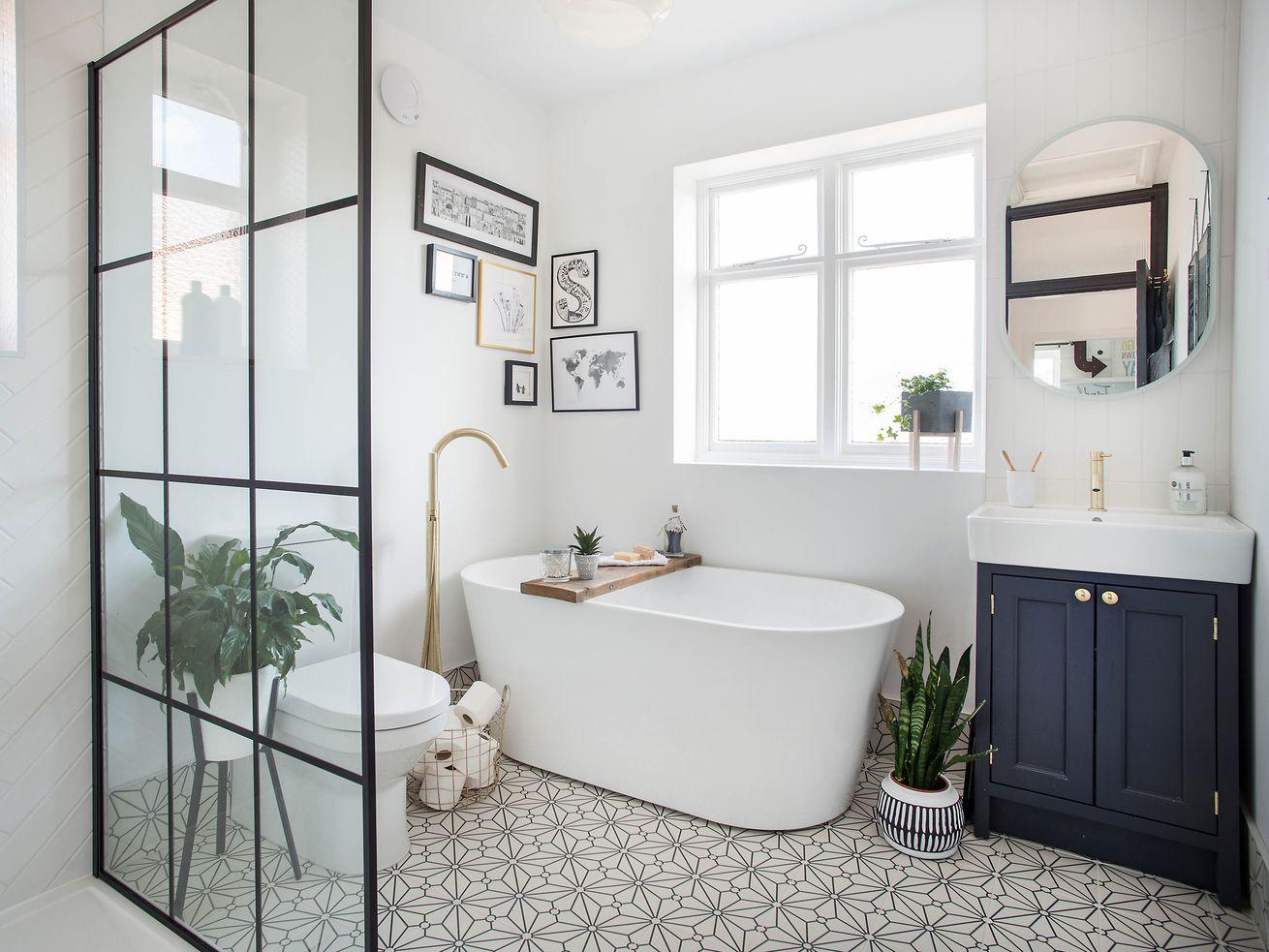 6 Cheap Bathroom Flooring Ideas