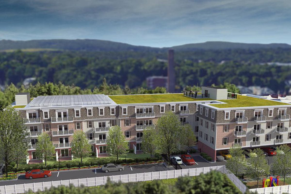 lower mills development would add 57 homes near milton t stop