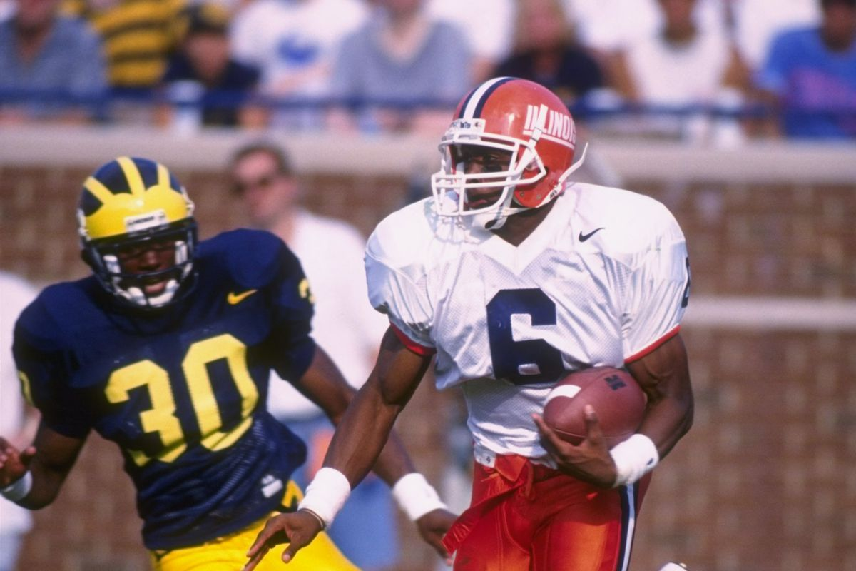 George McDonald was a receiver at Illinois in the 90s.