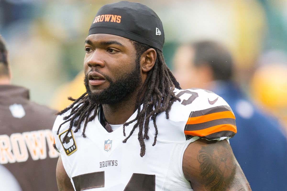 Who will replace OLB Quentin Groves in the rotation?
