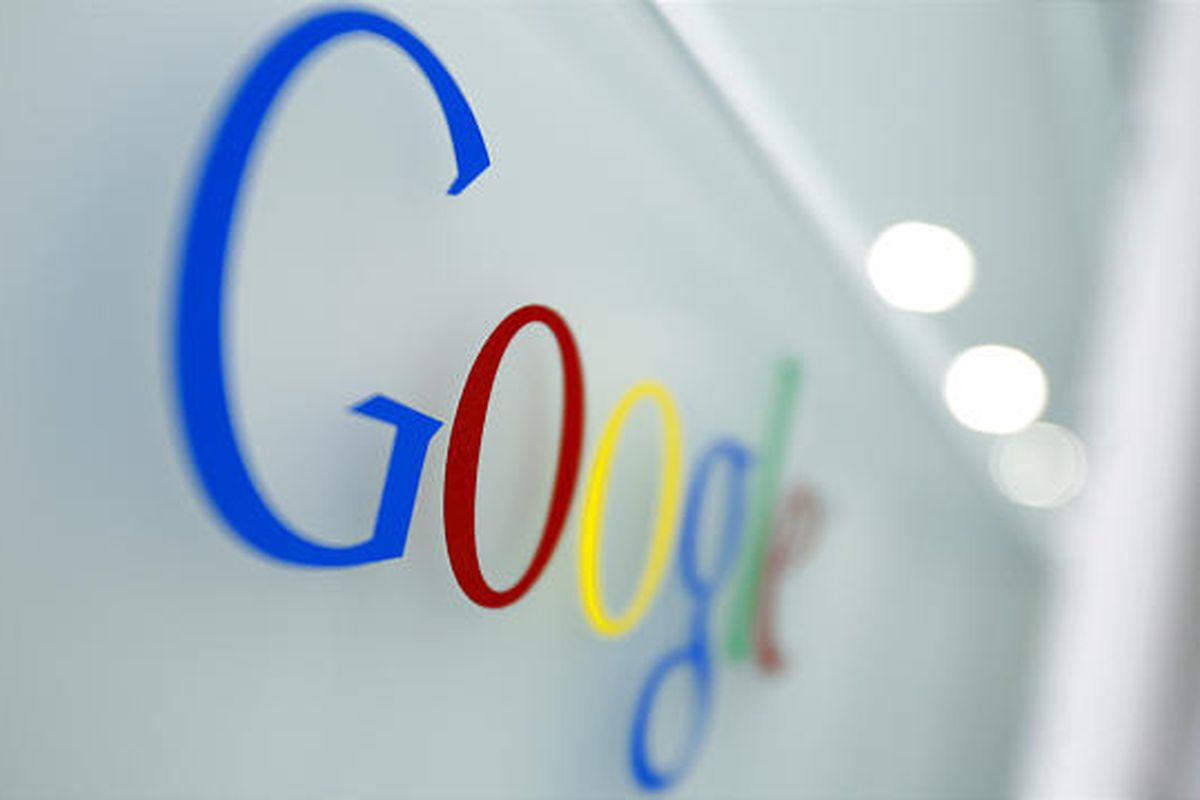 The Google logo is seen at the Google headquarters in Brussels, Tuesday March 23, 2010.