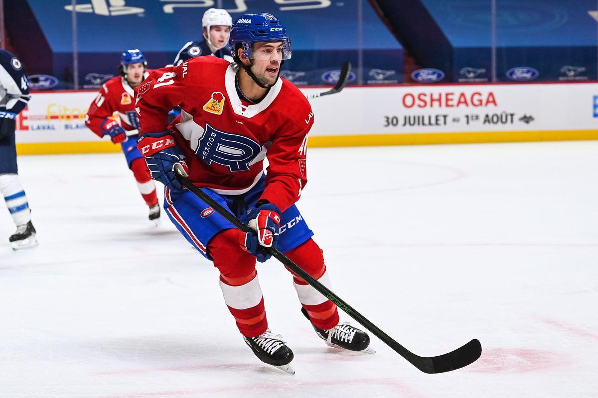 AHL: FEB 24 Manitoba Moose at Laval Rocket