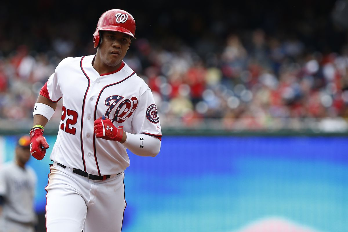Washington Nationals' lineup for series opener with Chicago Cubs + Juan Soto struggling at the plate...