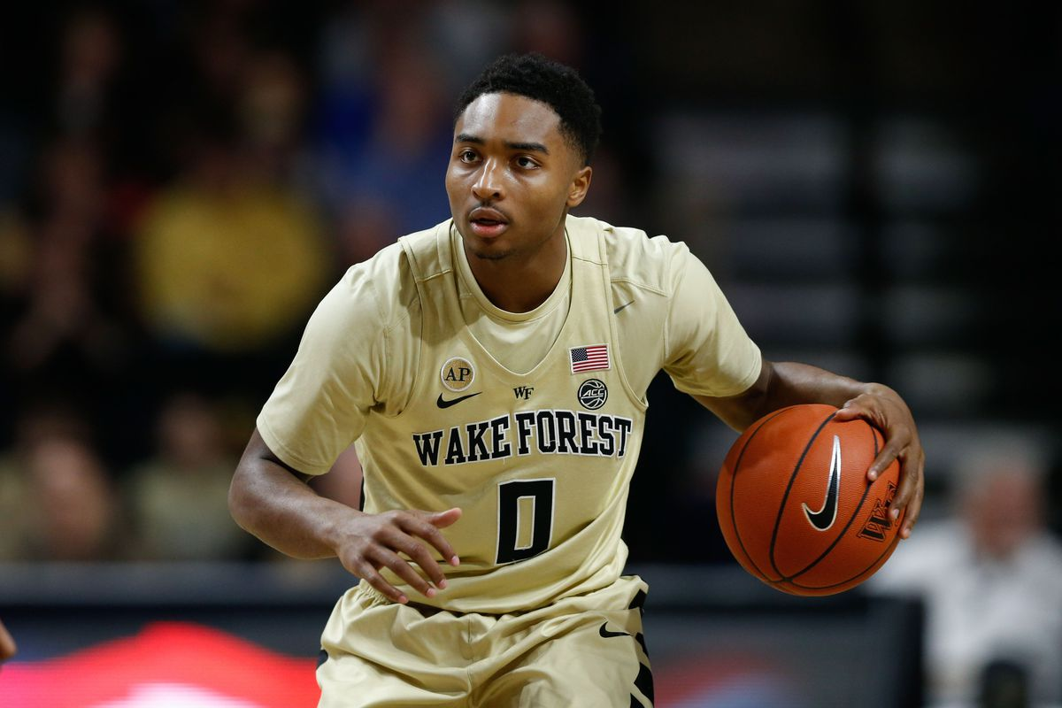 NCAA Basketball: Clemson at Wake Forest