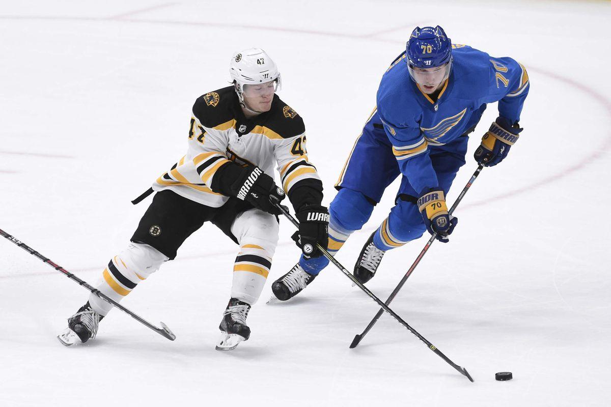 NHL: Boston Bruins at St. Louis Blues