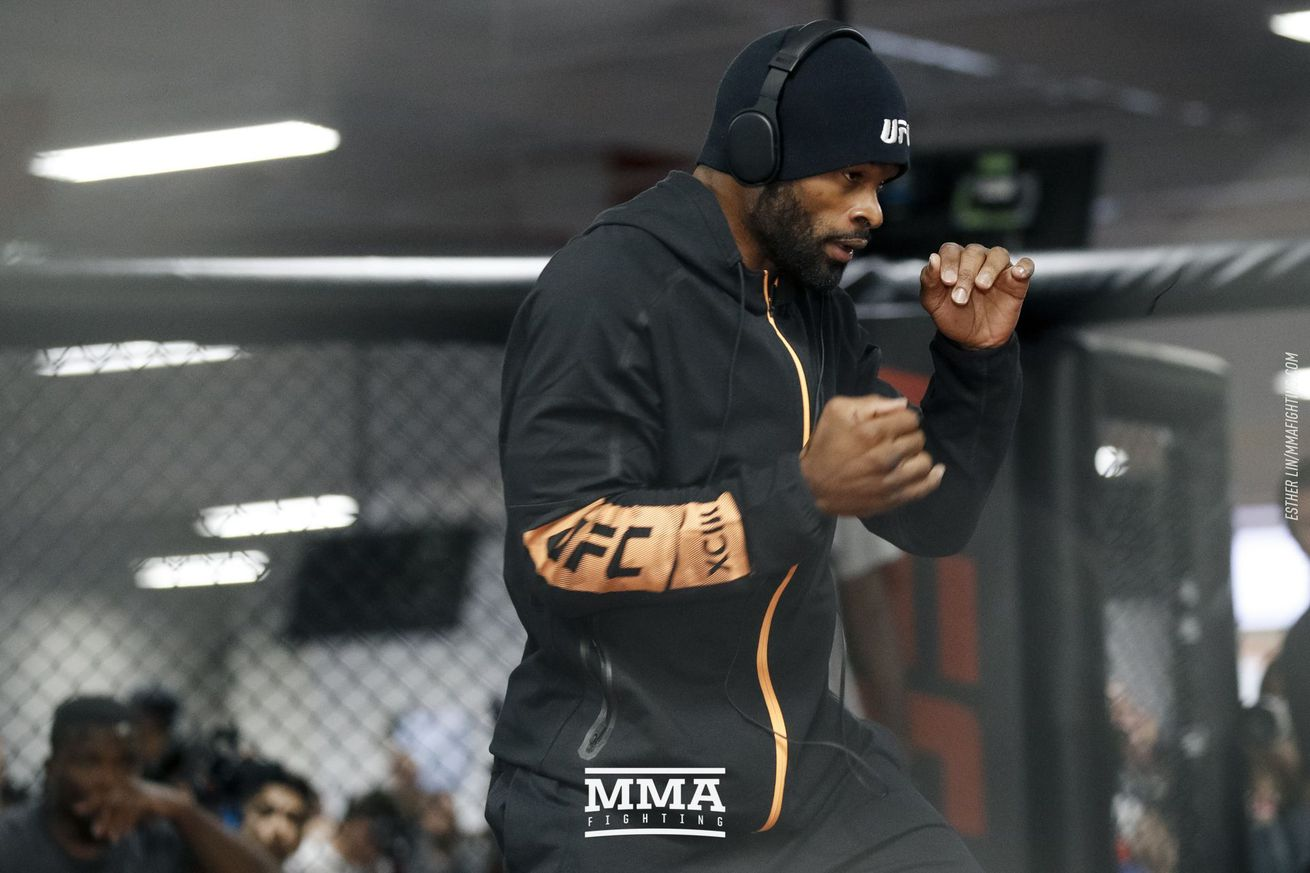 Tyron Woodley noticed Demian Maia's face 'twitching a little bit' during staredown