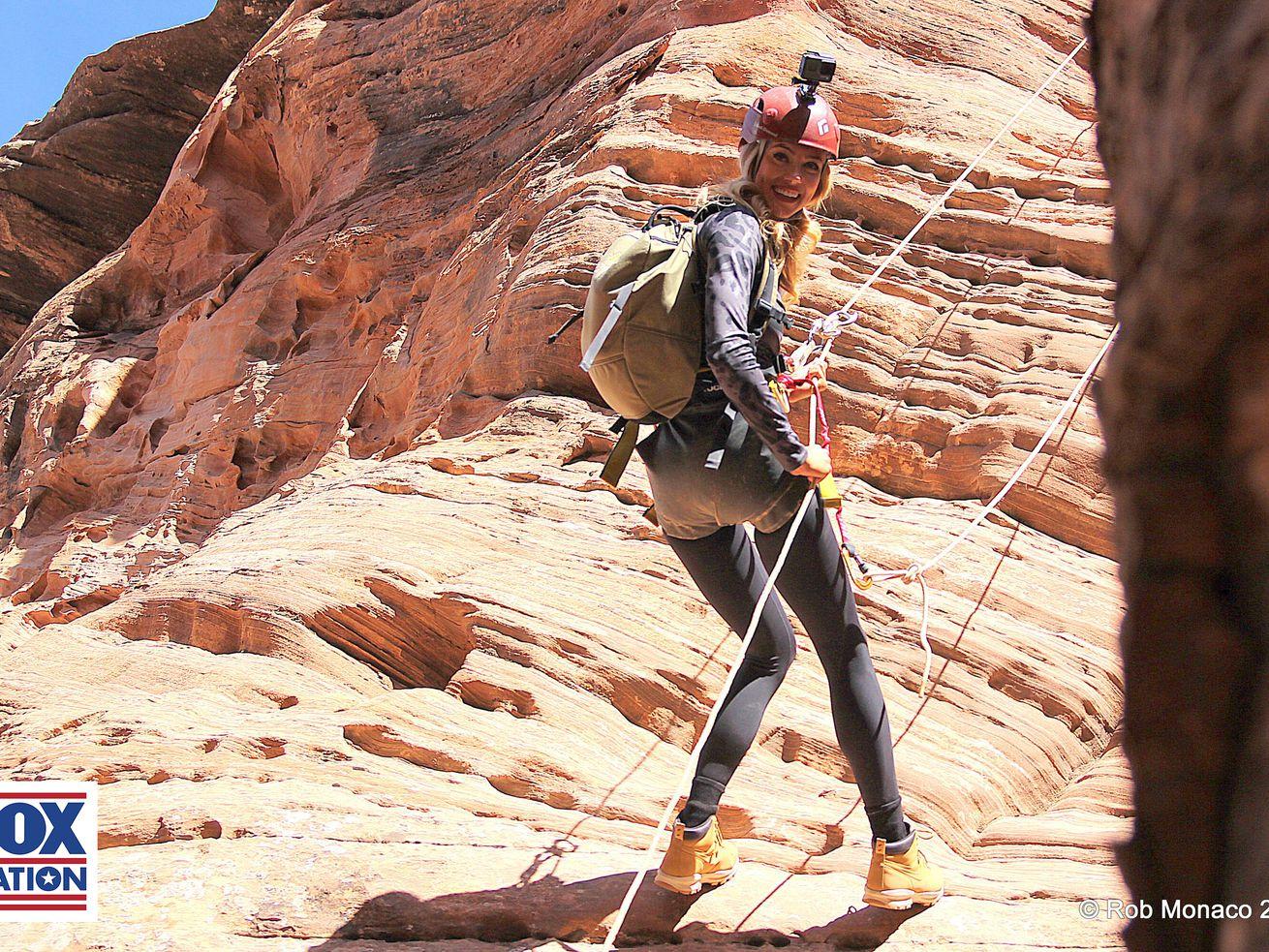 Abby Hornacek returns to Utah for visit to Zion National Park