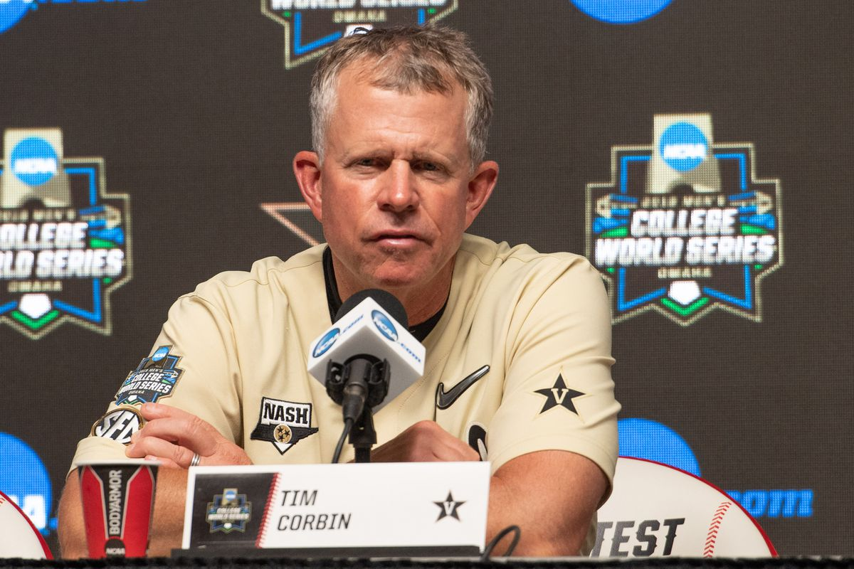 NCAA Baseball: College World Series-Michigan v Vanderbilt