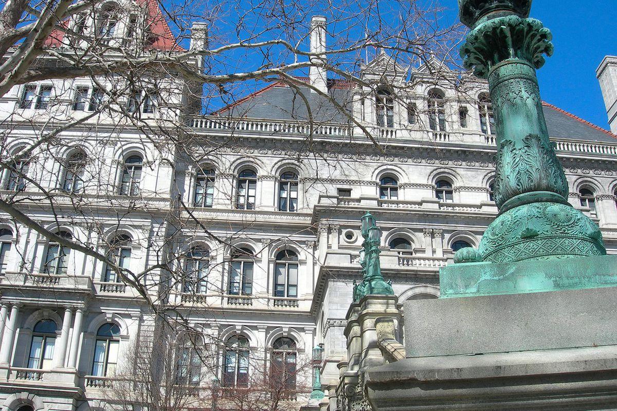 Albany statehouse.