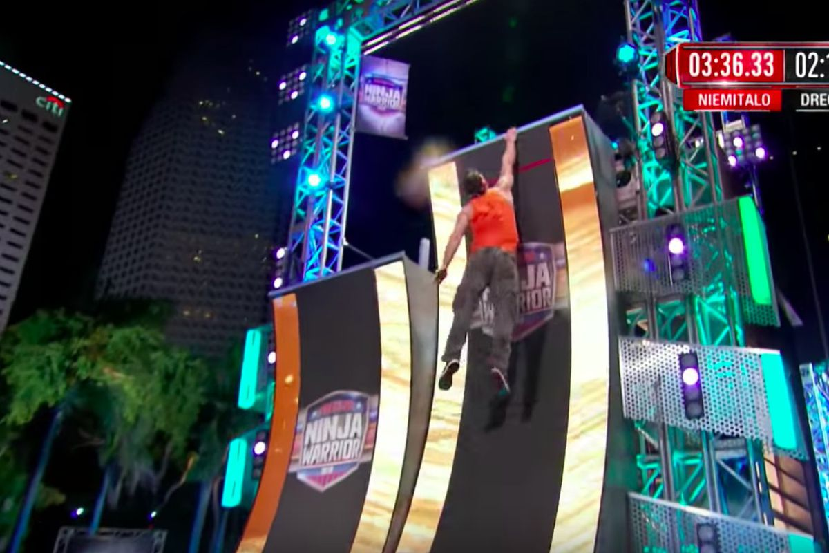 Warped Wall Evolution American Ninja Warrior Nation