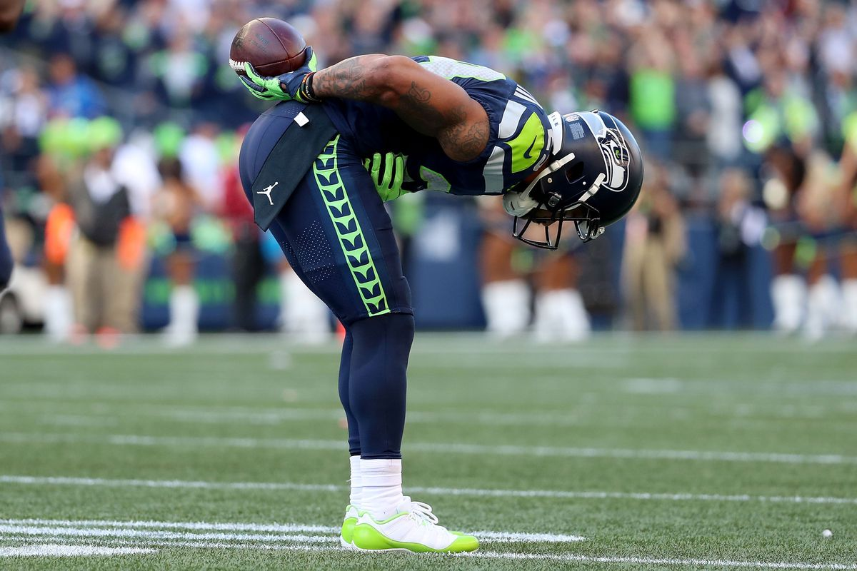 1eb0c7c3096 Photo by Abbie Parr/Getty Images. Earl Thomas, the Seattle Seahawks and the  Dallas Cowboys have ...
