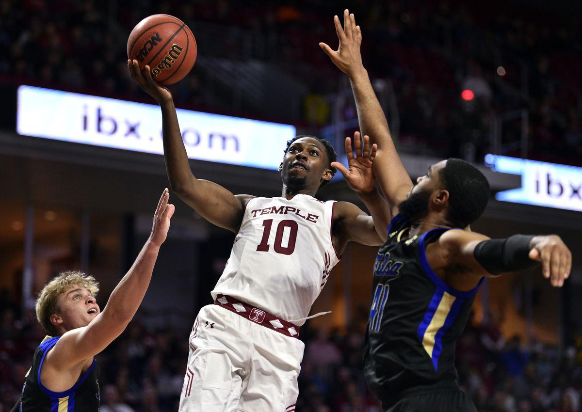 NCAA Basketball: Tulsa at Temple