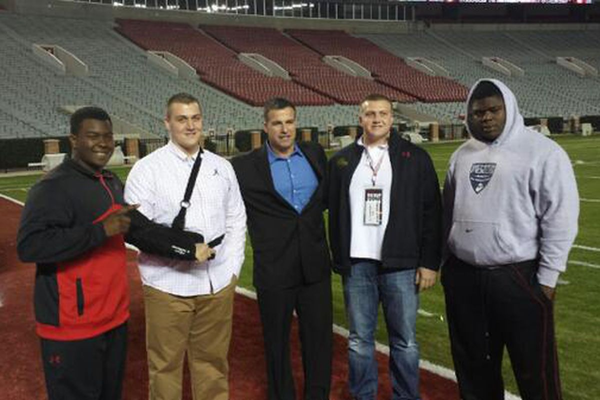 These are not little guys. Meet some of the 2014 OL signees.
