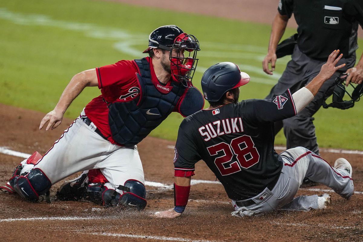 MLB: Game Two-Washington Nationals at Atlanta Braves