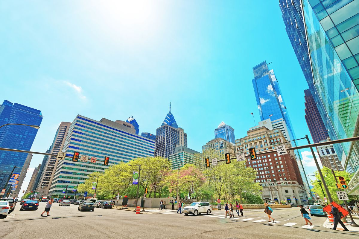 Philly's most walkable neighborhoods are all based in Greater Center City.  Courtesy of Shutterstock