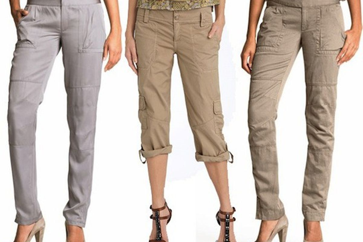 """Look! They're cute and under $80! Image via <a href=""""http://www.huffingtonpost.com/ysolt-usigan/chic-cargo-pants-and-they_b_589698.html"""">HuffPo</a>."""