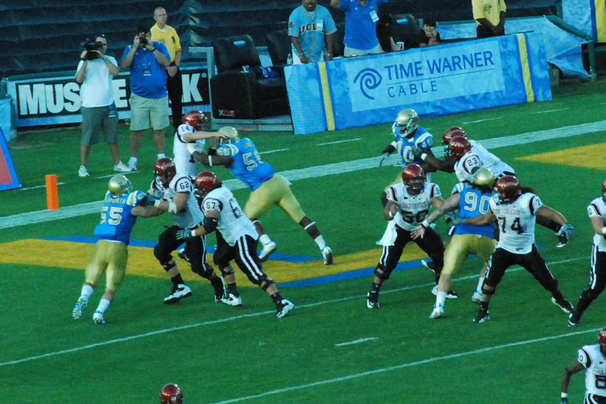 <em>Datone and the Bruin defense will need to set the tone early. Photo Credit: Telemachus</em>