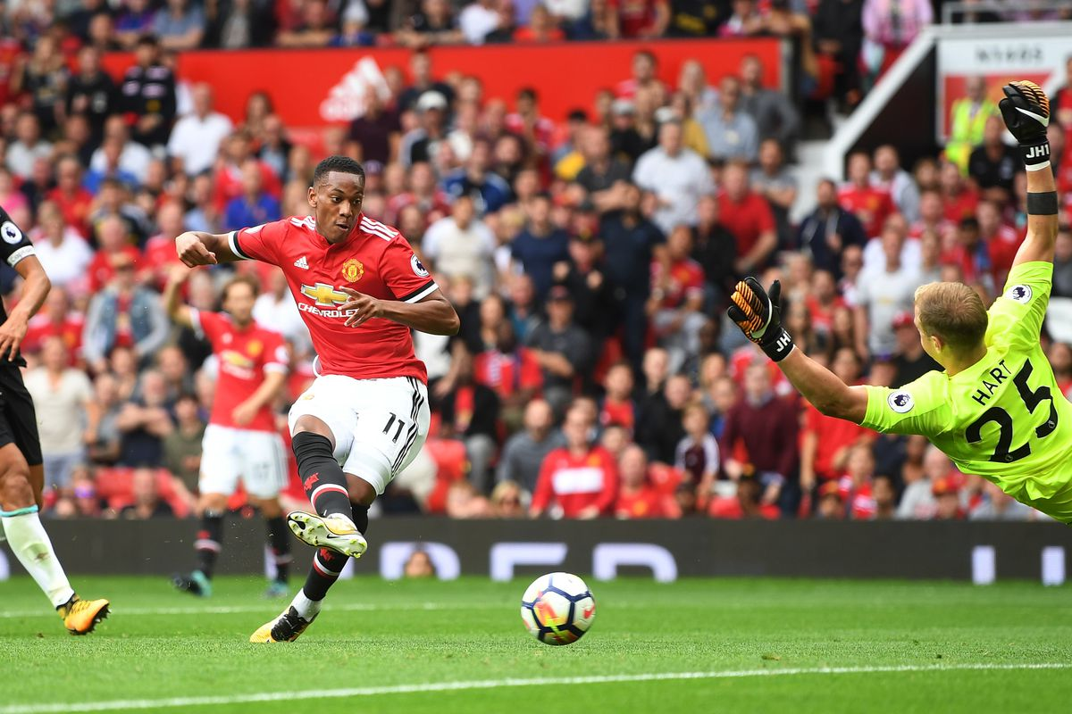 Four-midable Manchester United sweep West Ham aside in Premier League opener