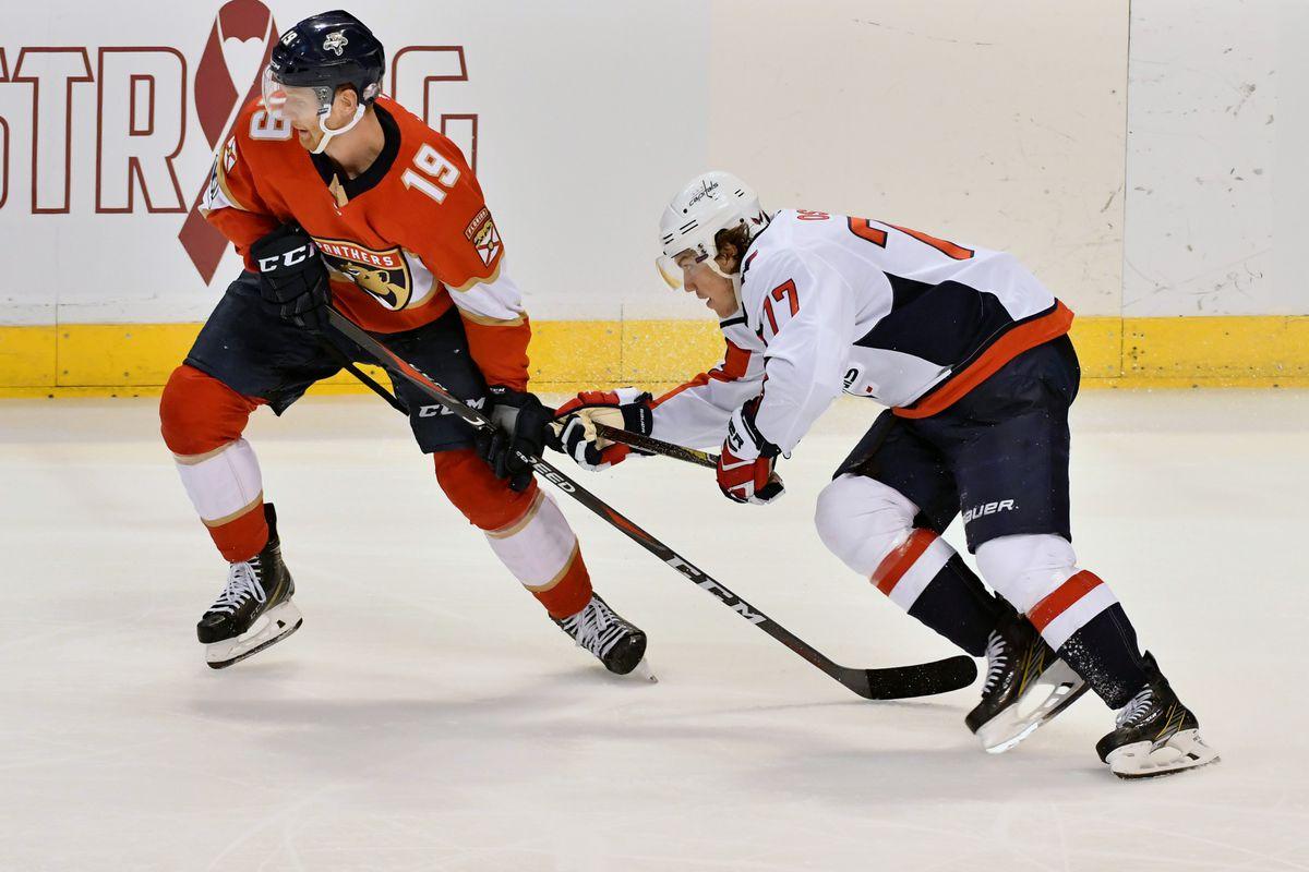 NHL: Washington Capitals at Florida Panthers