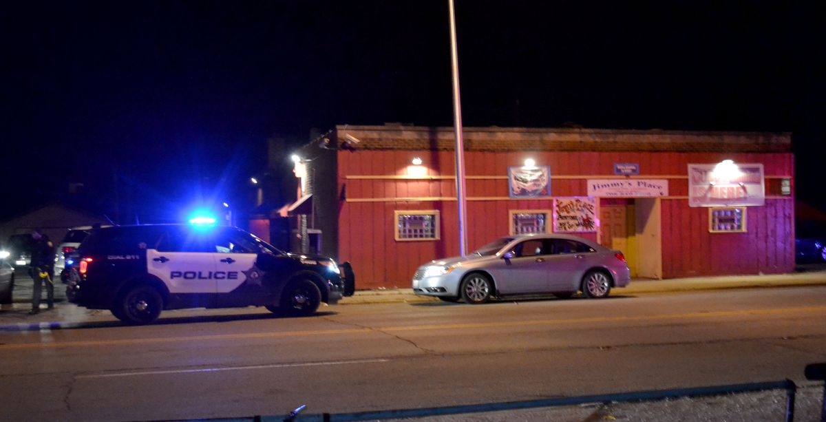 Multiple people were shot at Jimmy's Club in the 13800 block of South Indiana Avenue in the south suburban Riverdale. | Justin Jackson/ Sun-Times