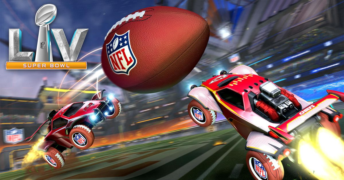 Rocket League's new limited-time Super Bowl game mode is Gridiron