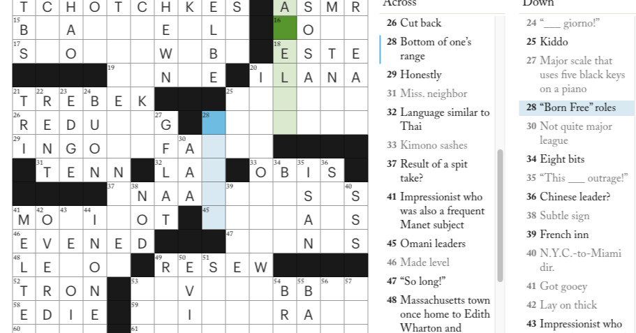 The New Yorker Adds Co Op To Its Online Crossword Puzzles The Verge