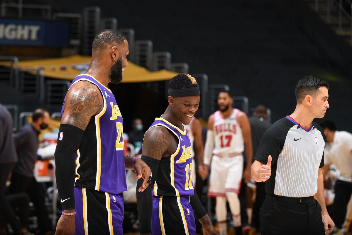 Chicago Bulls v LA Lakers