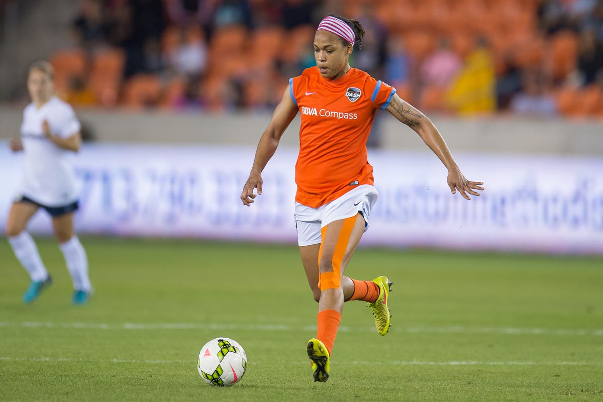 Jessica McDonald and the Houston Dash face off with Seattle Reign again Friday at home.