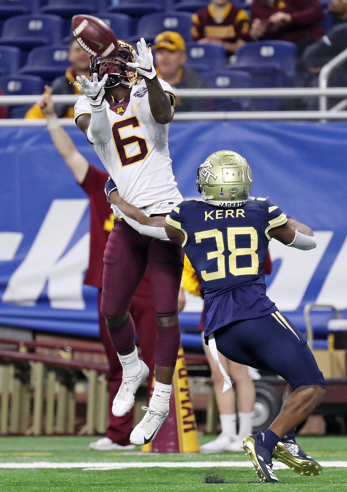 NCAA Football: Quick Lane Bowl-Minnesota vs Georgia Tech