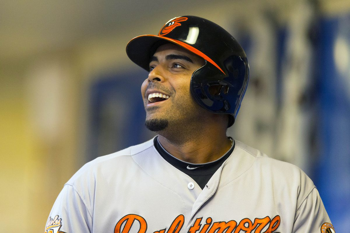 Nelson Cruz has a lot to smile about these days.