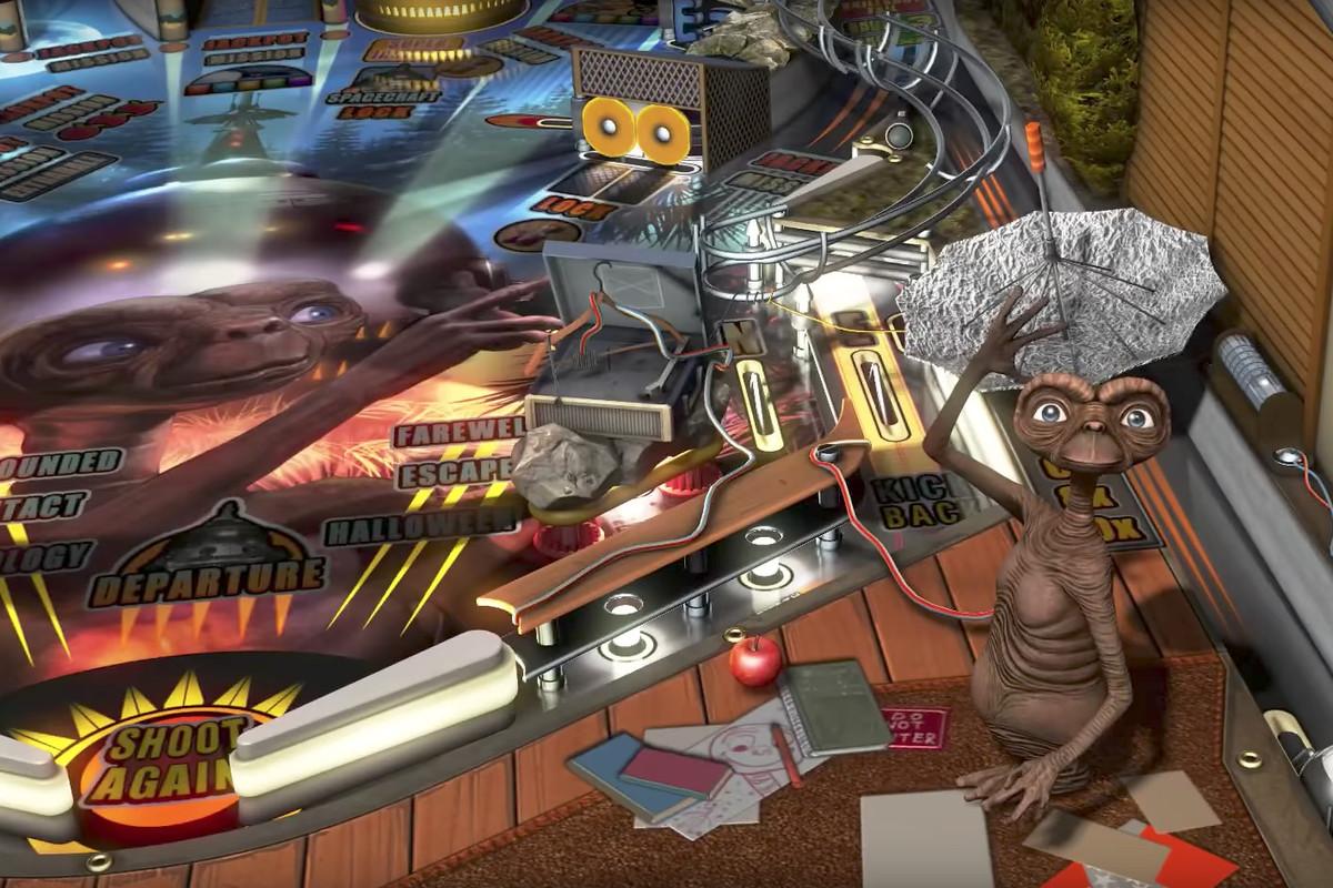 E.T. the Extra-Terrestrial in Pinball FX3's Universal Classics Pinball