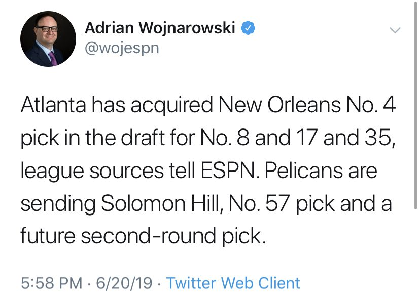 2019 NBA Draft: first round pick-by-pick results & draft
