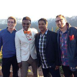 "All four <em>Top Chef Masters</em> winners. [Photo: <a href=""http://instagram.com/p/akMk2jyTYl/#"">offalchris / Instagram</a>]"