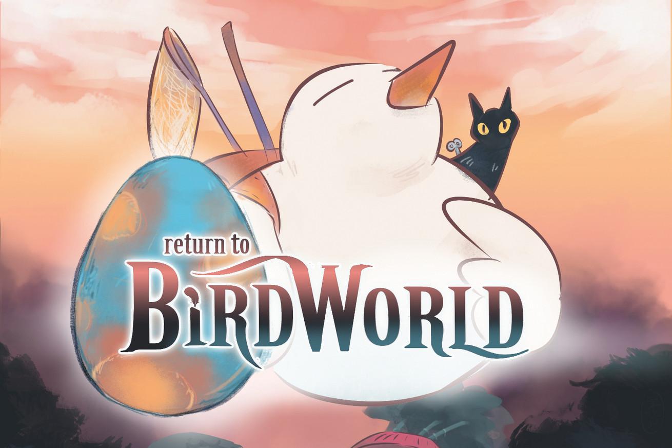 Return to Bird World album cover art