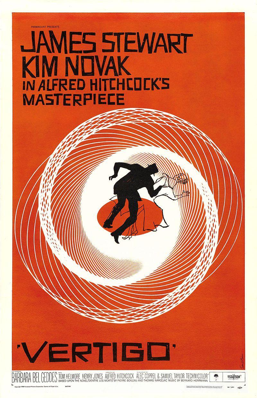Saul Bass's poster for Vertigo