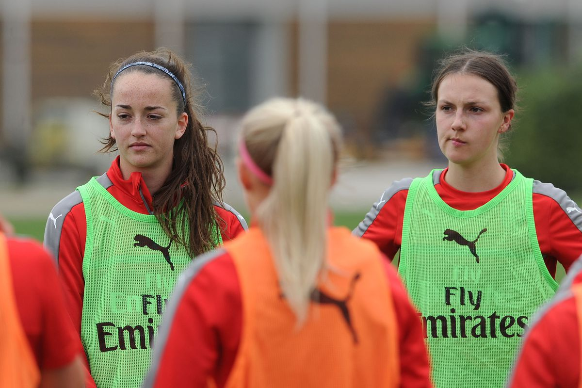 Arsenal Ladies Training Session