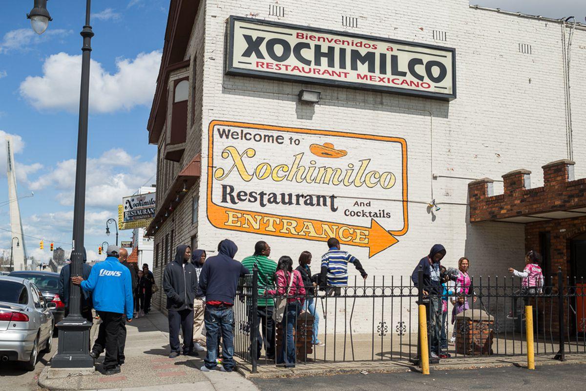 Xochimilco Cinco de Mayo.