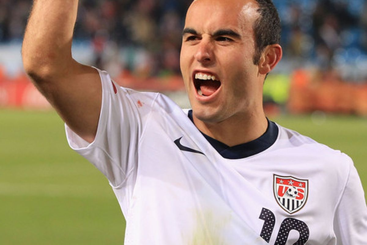 Landon Donovan - on my wish list  (Photo by Martin Rose/Getty Images)