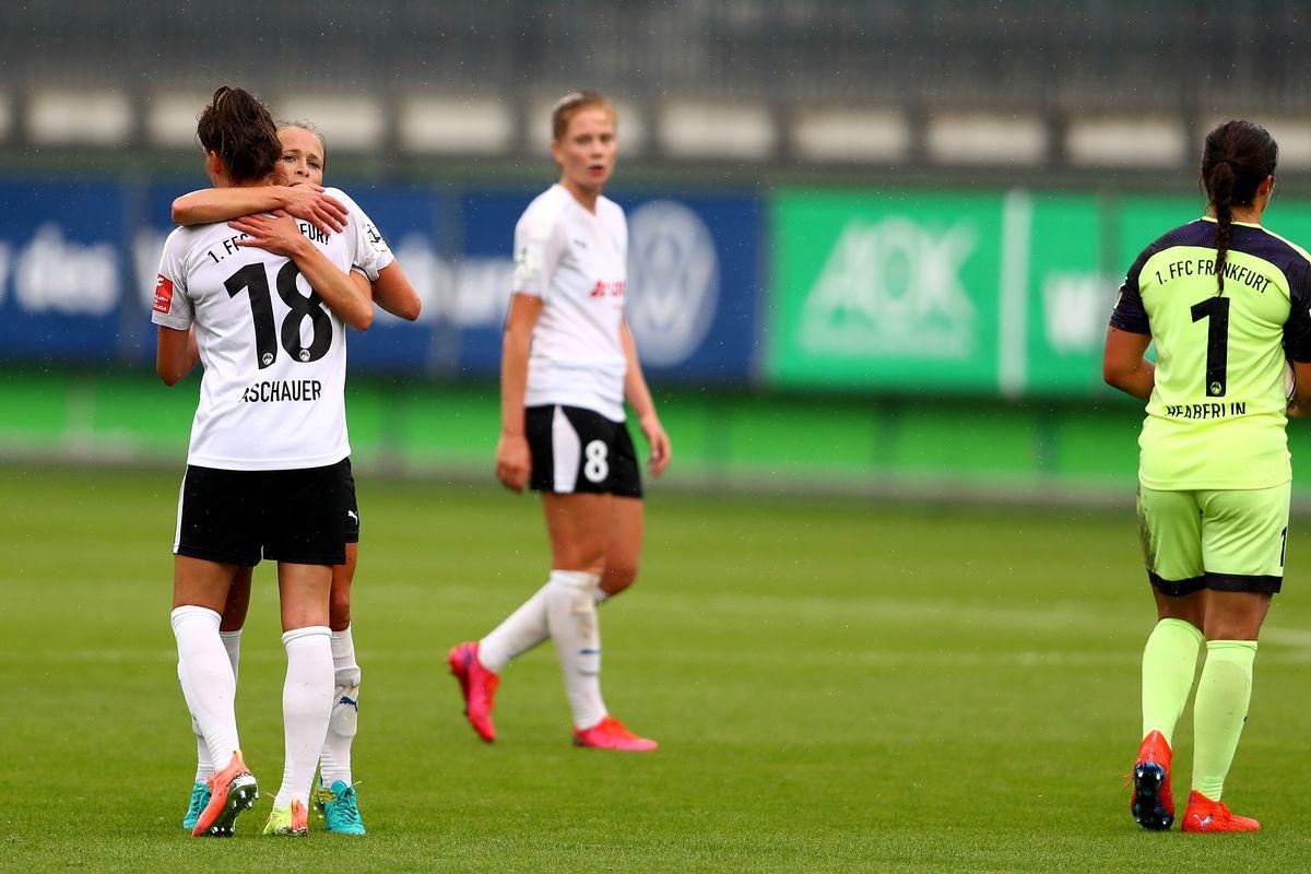 VfL Wolfsburg Women's v 1. FFC Frankfurt - Flyeralarm Frauen-Bundesliga