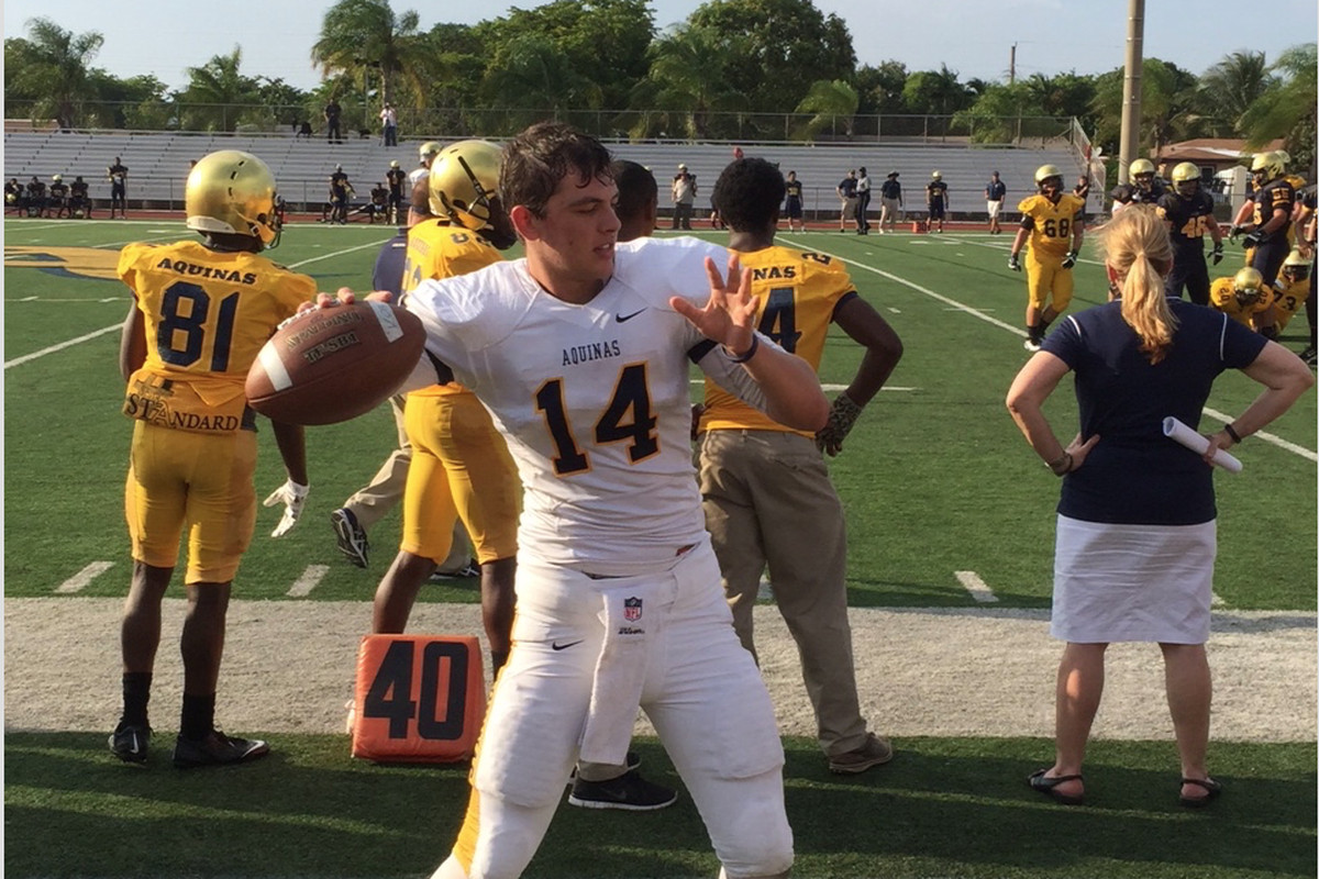 Canes Target And 4 Star 2017 Qb Jake Allen Commits To Florida