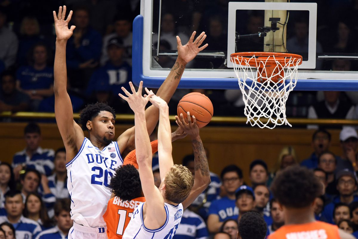 Duke Syracuse Tip Off Set For 6 00 P M On February 23rd Duke