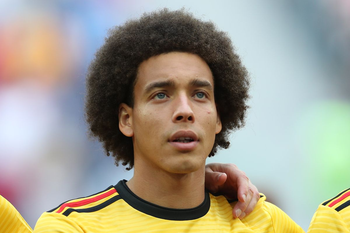 Official Axel Witsel Signs For Borussia Dortmund Fear