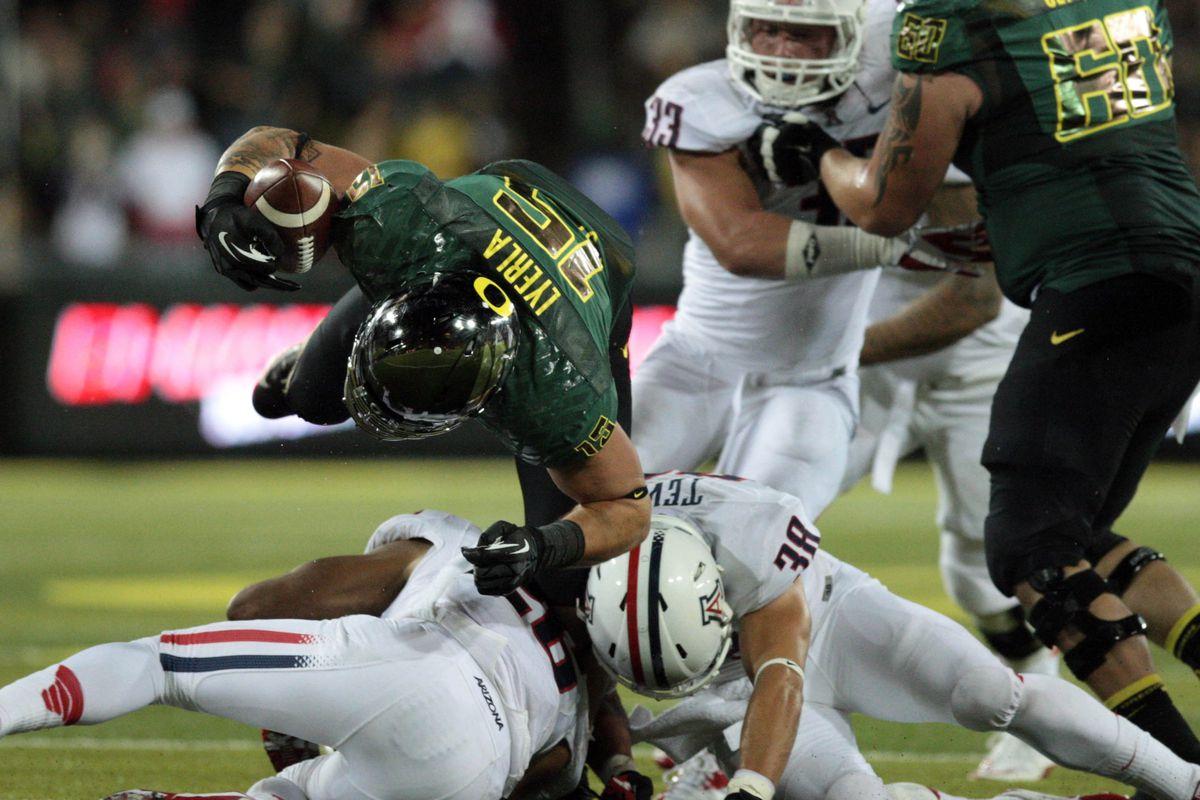 Oregon Vs  Arizona Final Score: Ducks Crush Wildcats, 49-0