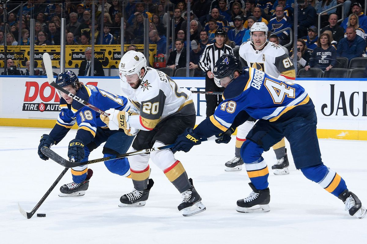 Vegas Golden Knights v St Louis Blues