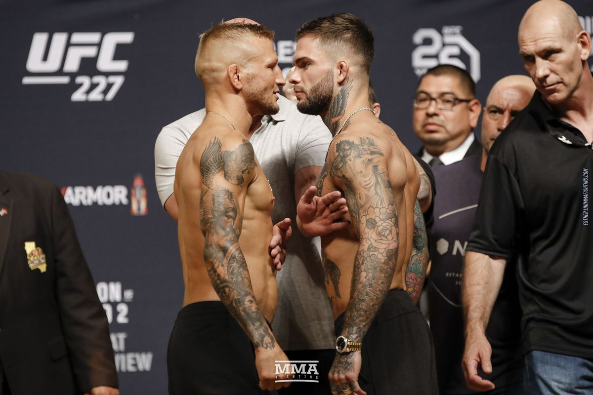 UFC 227 Results: Dillashaw vs. Garbrandt 2