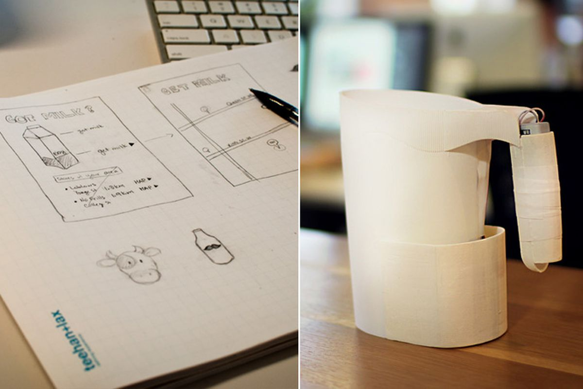 arduino milk jug