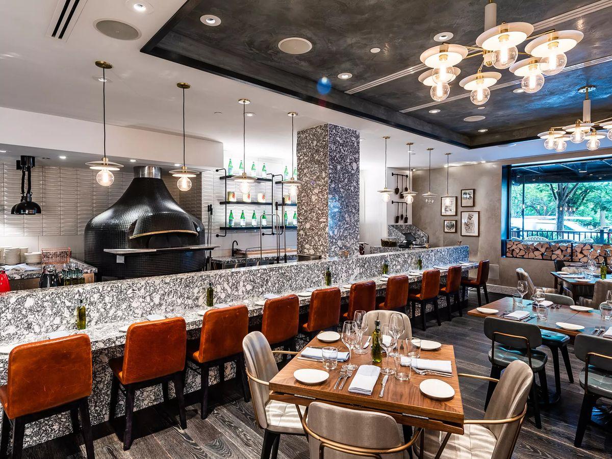 Former Fiola Mare chef de cuisine Colin Clark opened Via Sophia in the Hamilton Hotel in June.