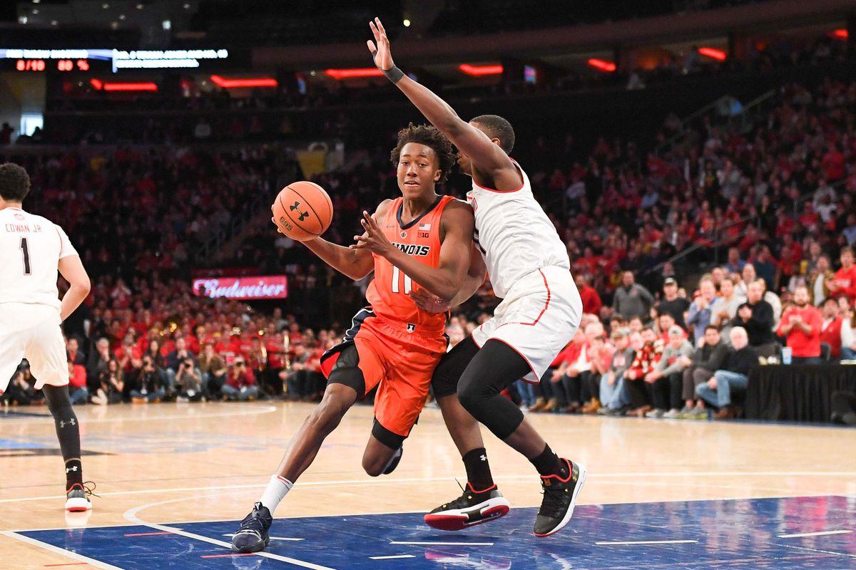 NCAA Basketball: Maryland vs Illinois